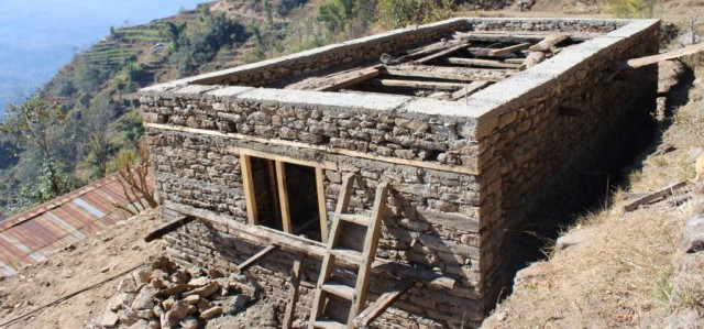 Neubau Gebäude in Thulopatal / Jiri (Nepal) [Hope e.V.]