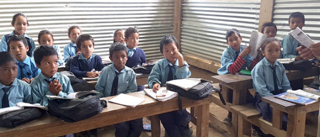 Nepal, Schule, Kinder, Hilfe, Bildung,