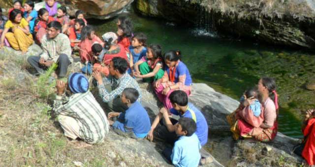 Wasserversorgung in Chitwan (Nepal)