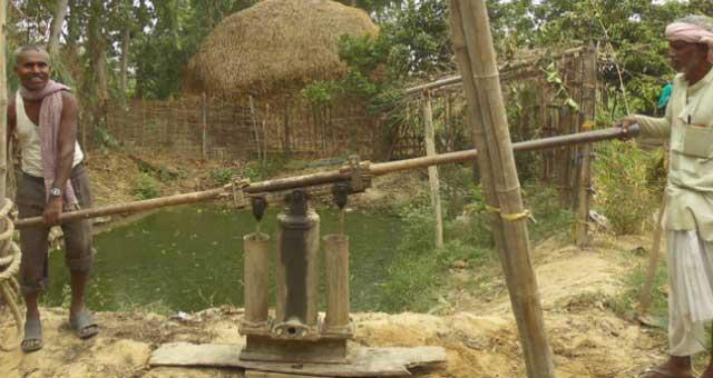 Wasserversorgung in Ramgopalur, Mahottari (Nepal)