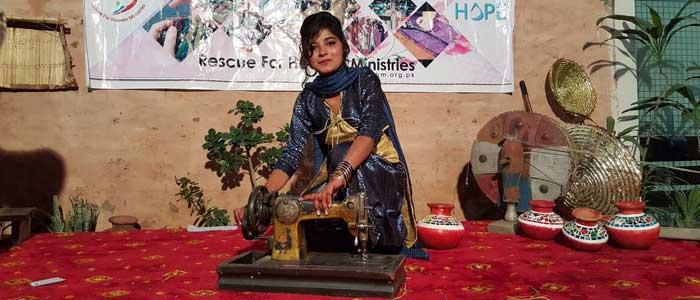 Nähschule in Pakistan