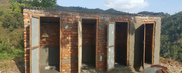 Neubau Toiletten Chitwan-Distrikt (Nepal)