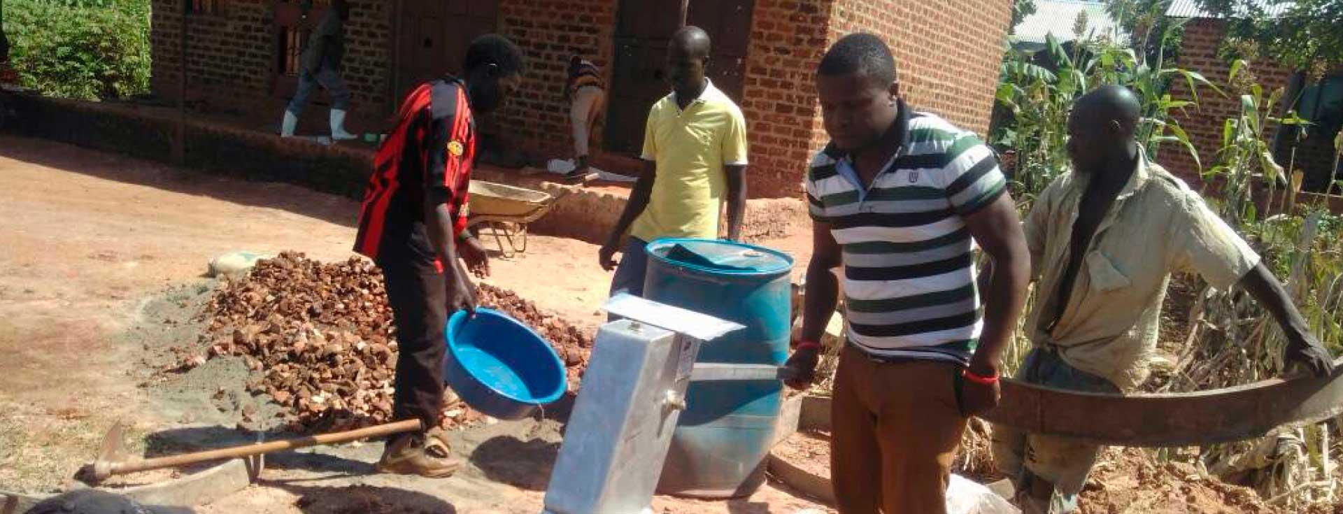 Schulaufbau KICERO-Kisaakye, Uganda