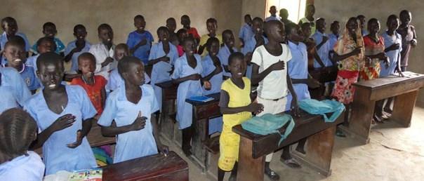 Schule im Süd-Sudan [Hope e.V.]