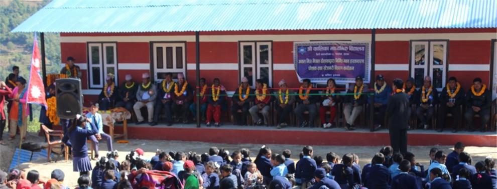 Neubau Schule in Thulopathal bei Jiri, Nepal (Hope e.V.)