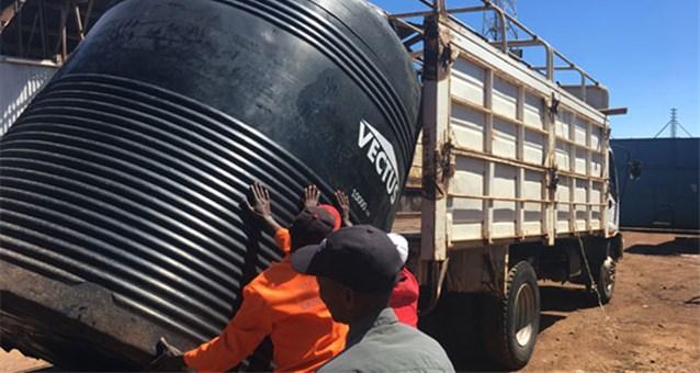 MBeere Damm (Kenia) - Trinkwasserspeicher