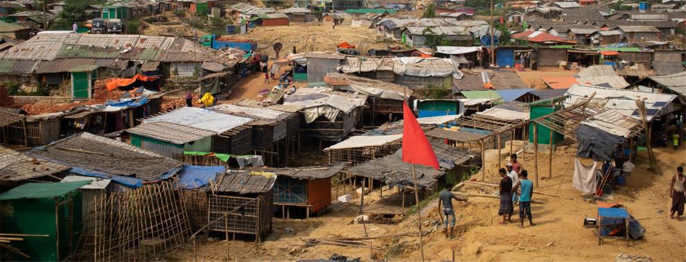 Rohingya, Myanmar, Bangladesch, Not, Hilfe