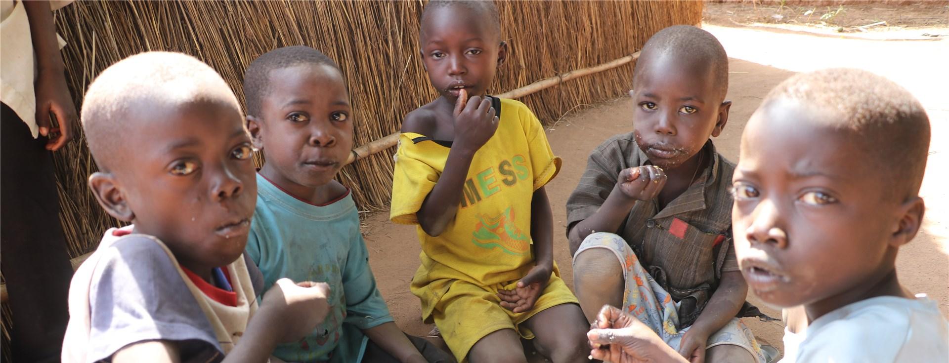 Kinder brauchen Lebensmittel