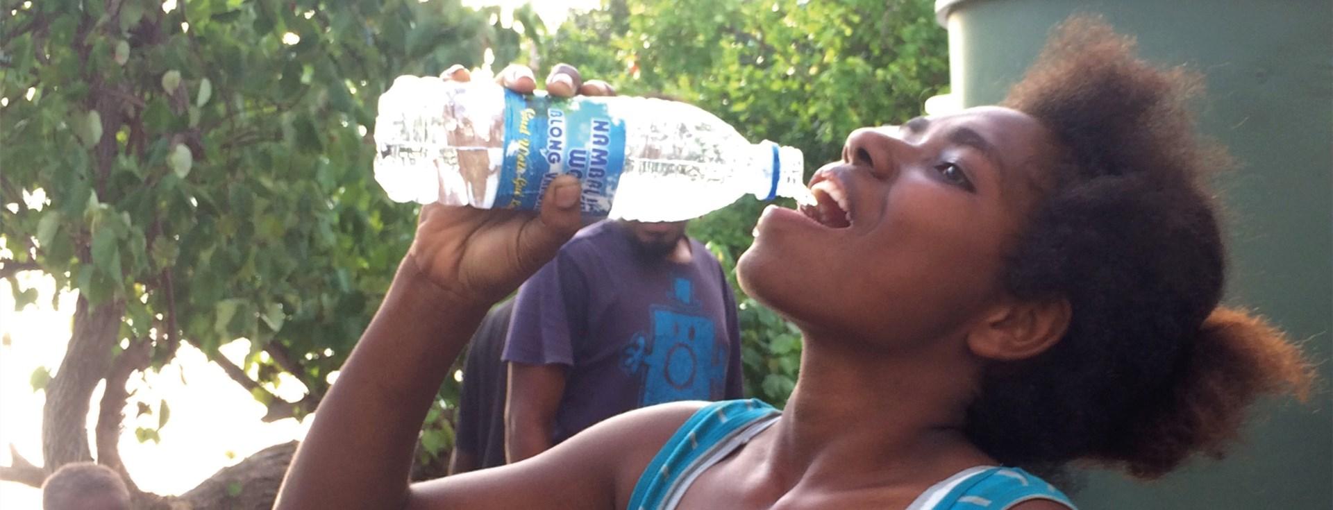 Hope e.V. unterstützt Wasserprojekte auf Südseeinsel Uripiv