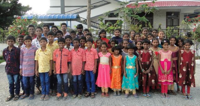 Kinderheim Chillakallu wird von Hope e.V. Spenden unerstützt
