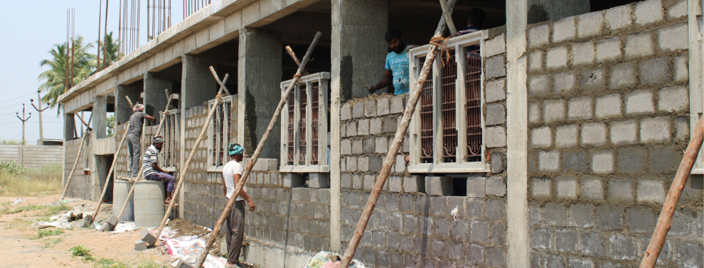 Hope e.V. Spenden unerstützen Schulbau im Kinderheim