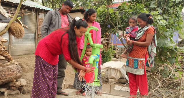 Familien bekommen Zugang zu frischen Wasser Dank Hope e.V. Ditzingen