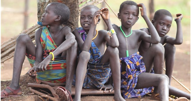 Schulprojekt in Kachipo Südsudan mit Hilfe von Hope e.V. Ditzingen
