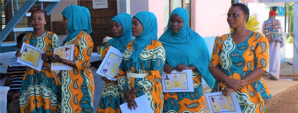 Hope e.V. - Nähschulen auf Sansibar