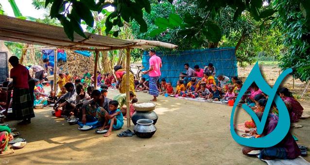 Hilfe in Bangladesch, wir konnten helfen, dank der Spenden