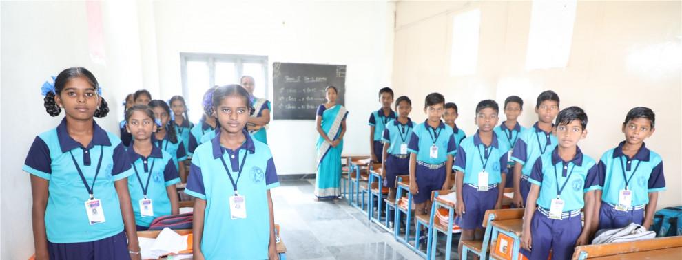 Hope Schule in Indien Chillakallu