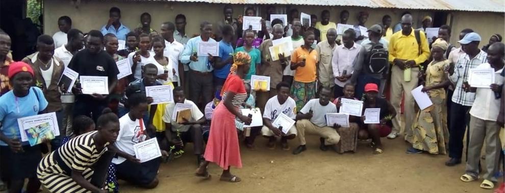 Garten, Hoffnnung, Uganda, Flüchtlinge, Camp, Flüchtlingscamp, Flüchtlingshilfe