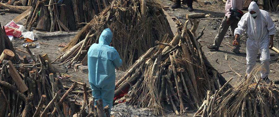 Indien, COVID-19, Zerstörung, lebensrettung, medizinische Versorgung, notstand