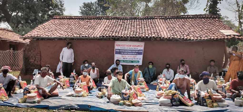 Nahrungsmittel, Hilfe Varanasi, Hilfe Indien, Corona Hilfe, Not