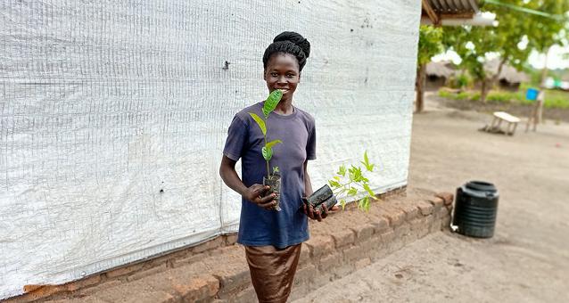 Rhino, Uganda, Flüchtlingscamp, Blühende Wüste, Pflanzen, Nahrung