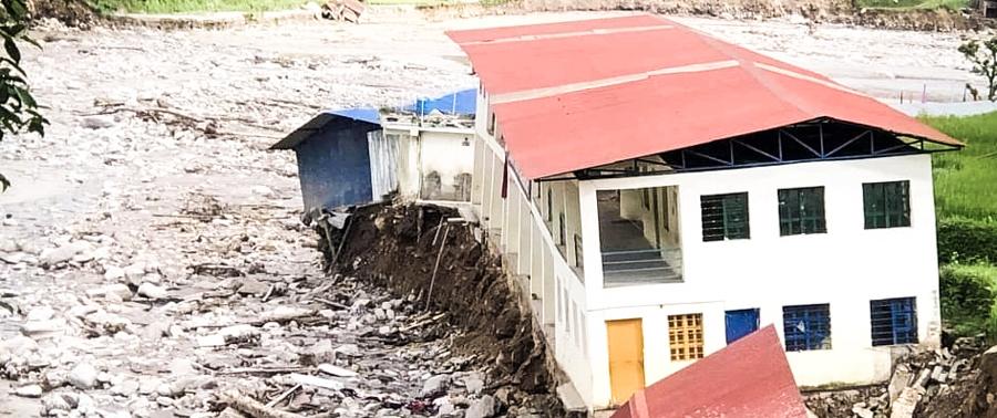 Nepal, Überschwemmungen, Katastrophe, Verlust, Not, Hilfe