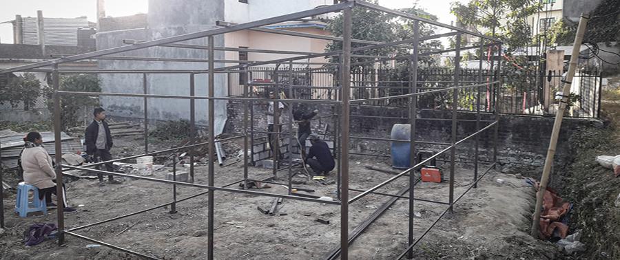 Nepal, Bau, Unterkunft, Neuanfang, Unterstützung