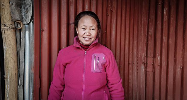 Nepal, Wittwe, Hilfe, Obdachlos, Familie